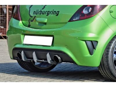 Opel Corsa D OPC Nurburgring Extensie Bara Spate Isota