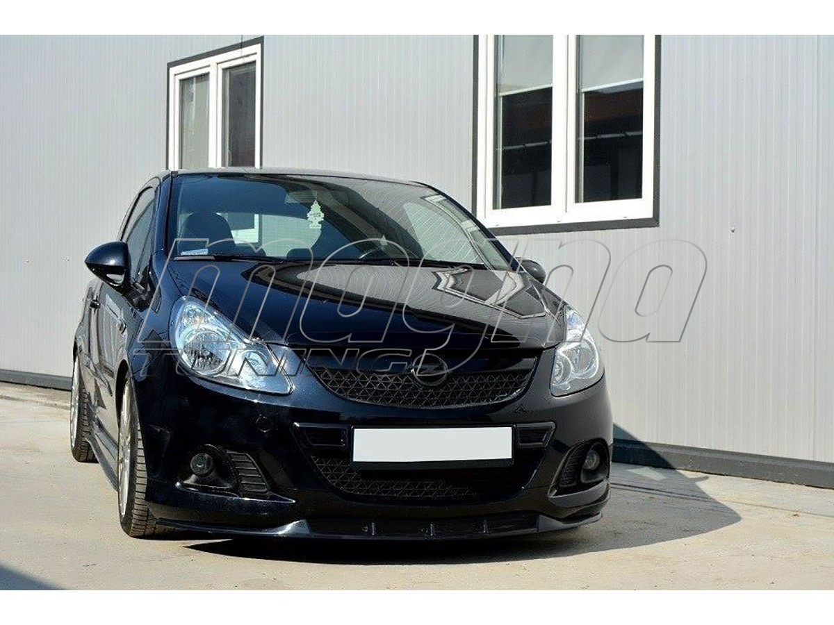 opel corsa d opc nurburgring m style frontansatz. Black Bedroom Furniture Sets. Home Design Ideas