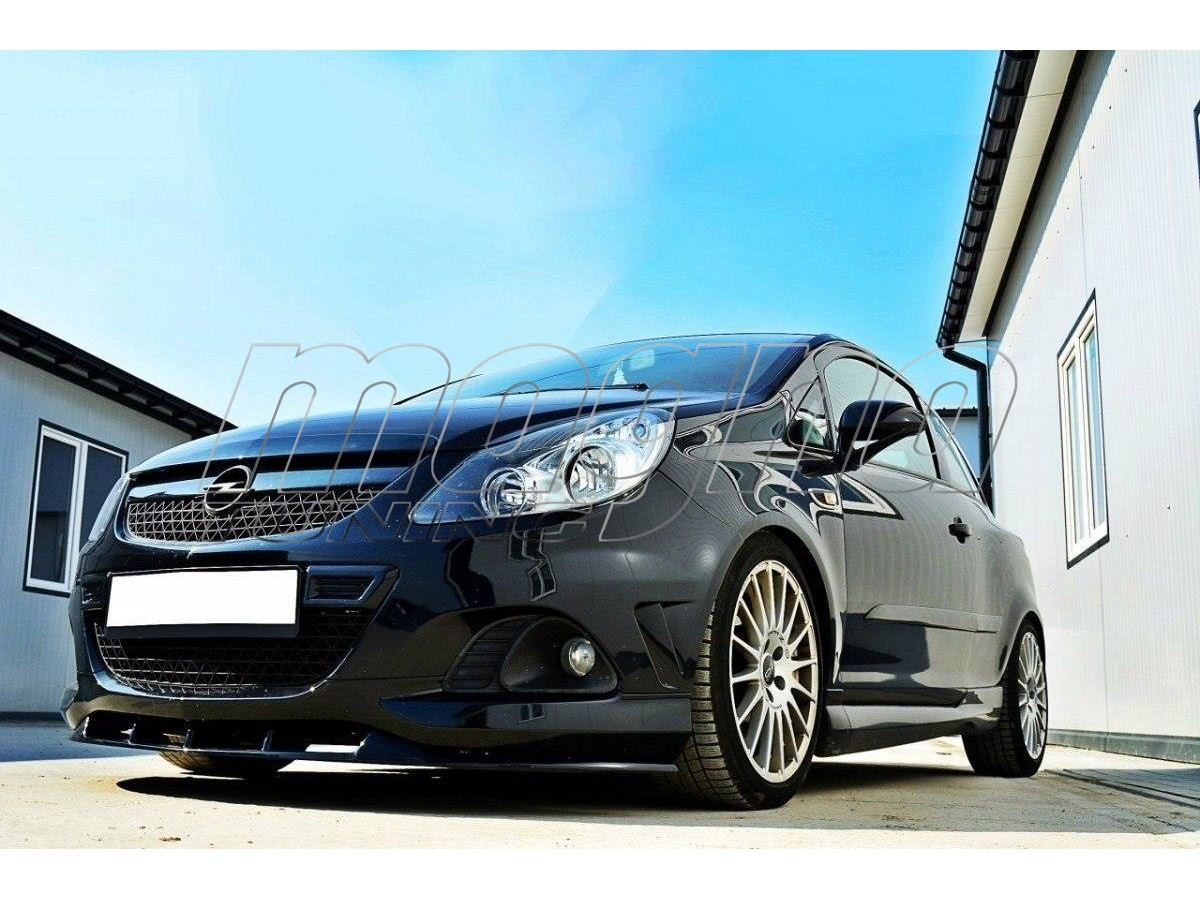 Opel Corsa D OPC Nurburgring MX2-Style Front Bumper Extension