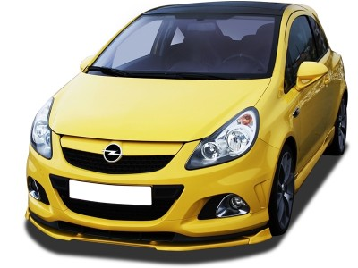 Opel Corsa D OPC Nurburgring VNR Front Bumper Extension
