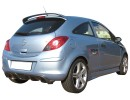Opel Corsa D RaceLine Rear Bumper Extension