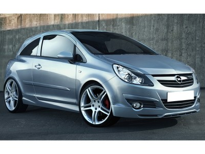 Opel Corsa D Sonic Front Bumper Extension