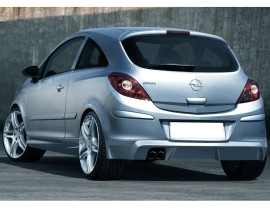 Opel Corsa D Sonic Rear Bumper Extension