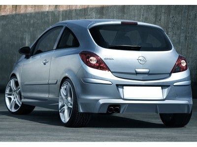 Opel Corsa D Sonic Rear Bumper Extension