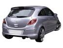 Opel Corsa D Speed Hatso Szarny
