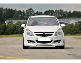 Opel Corsa D Vortex Front Bumper Extension