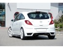 Opel Corsa D Vortex Rear Bumper Extension