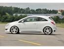 Opel Corsa D Vortex Side Skirts