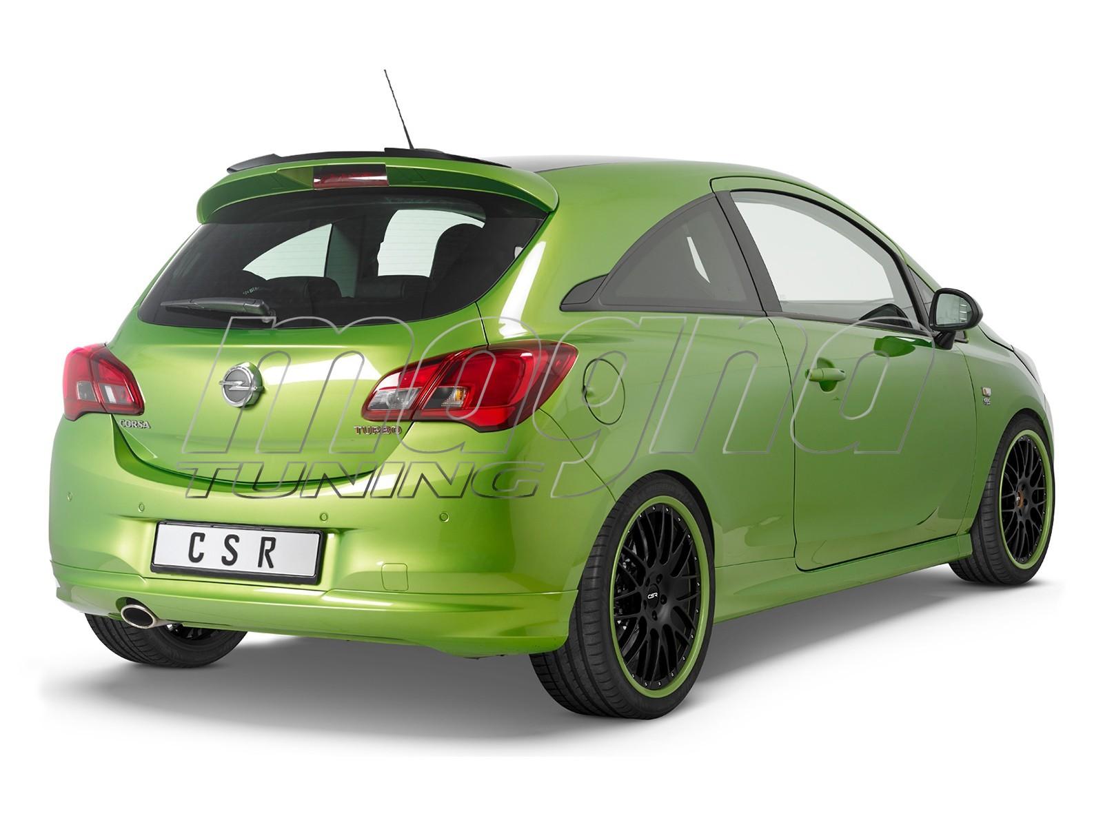 Opel Corsa E CRX Rear Wing Extension