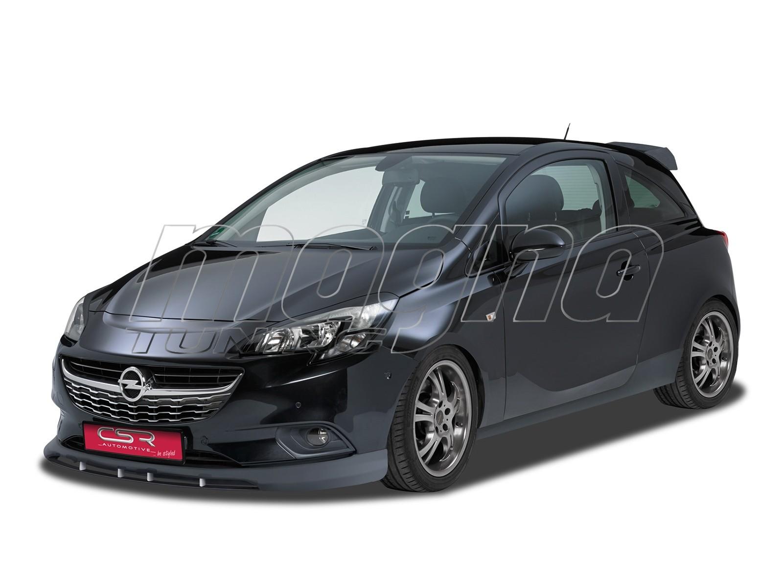 Opel Corsa E Crono Front Bumper Extension