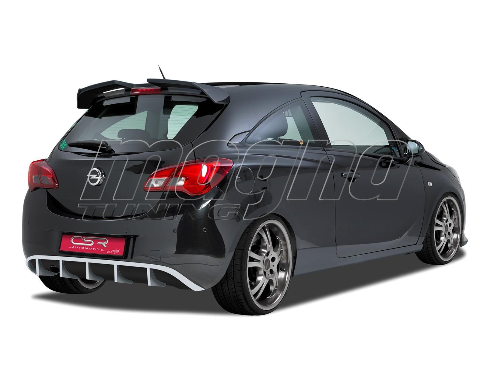 Opel Corsa E Crono Rear Bumper Extension