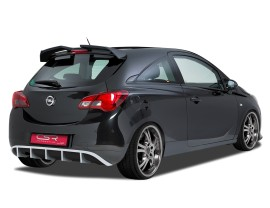 Opel Corsa E Crono Rear Bumper Extension