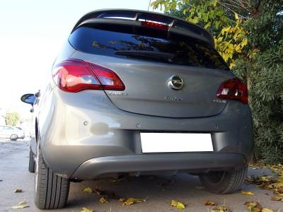 Opel Corsa E Meteor Heckansatz