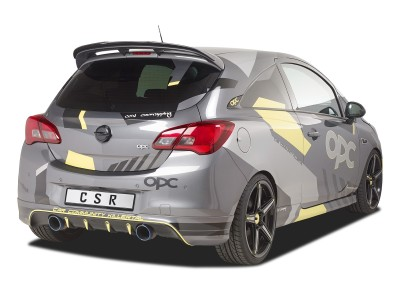 Opel Corsa E OPC Citrix Rear Wing Extension