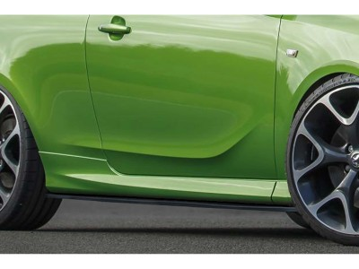 Opel Corsa E OPC Intenso Side Skirt Extensions