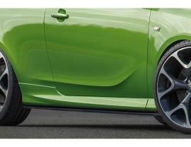Opel Corsa E OPC Intenso Side Skirts