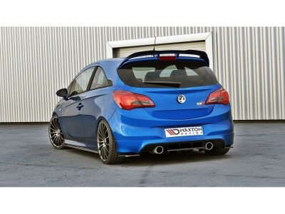 Opel Corsa E OPC MX Rear Bumper Extension