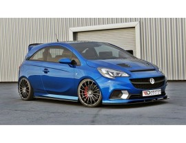 Opel Corsa E OPC MX Side Skirt Extensions