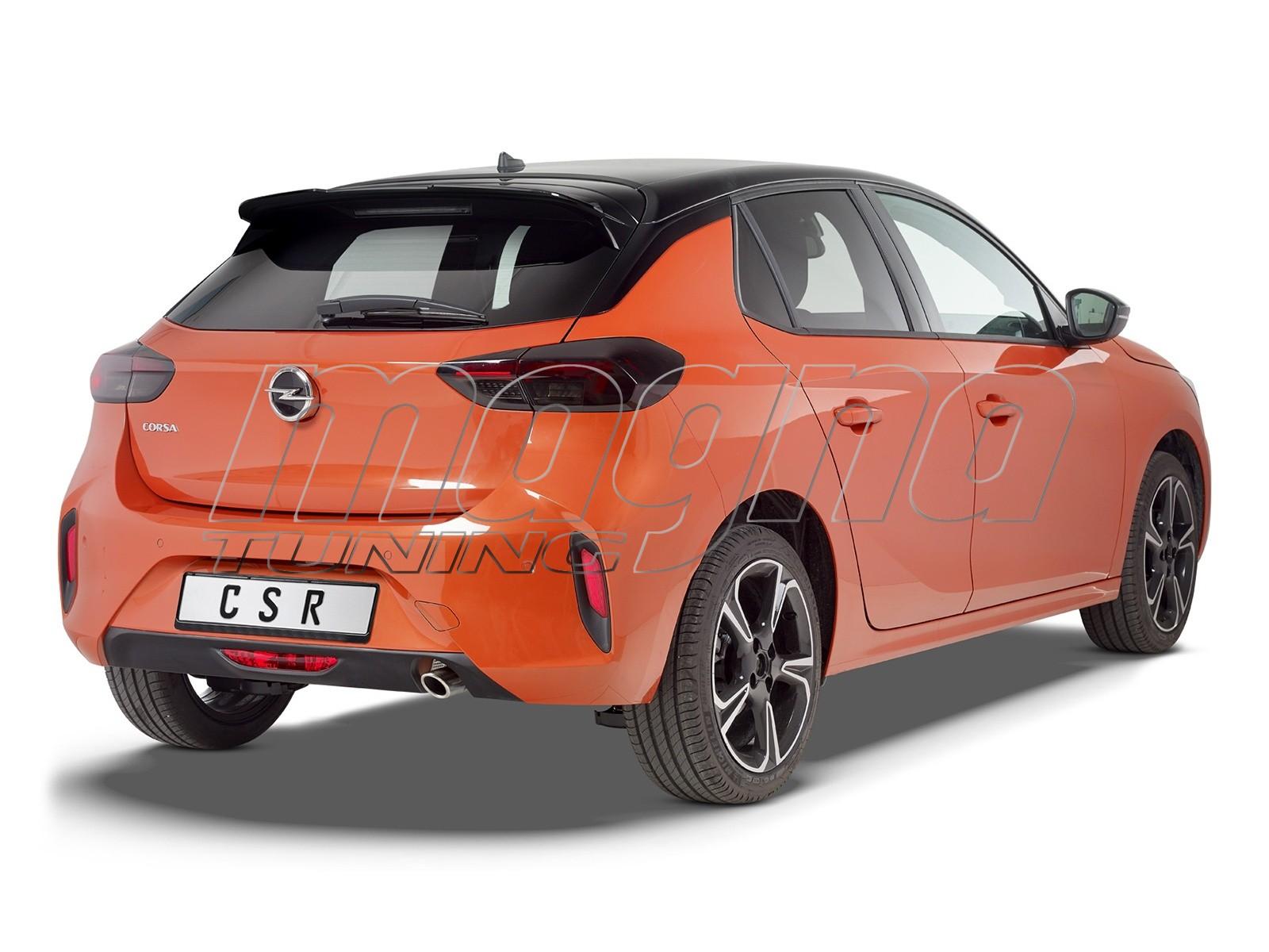Opel Corsa F Crono Rear Wing Extension