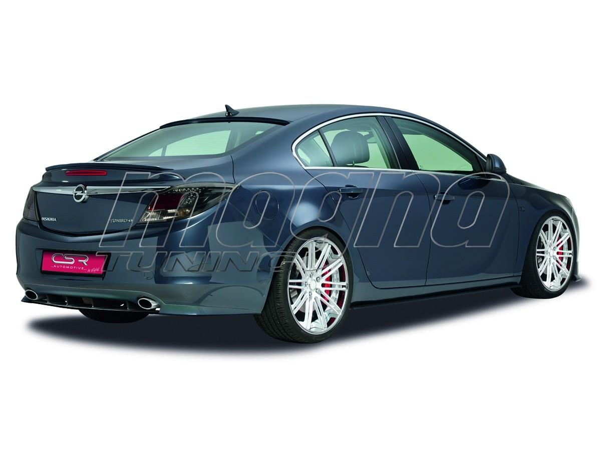 Opel Insignia A CX Rear Bumper Extension
