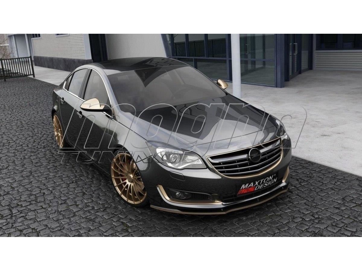 opel insignia a facelift m2 front bumper extension. Black Bedroom Furniture Sets. Home Design Ideas