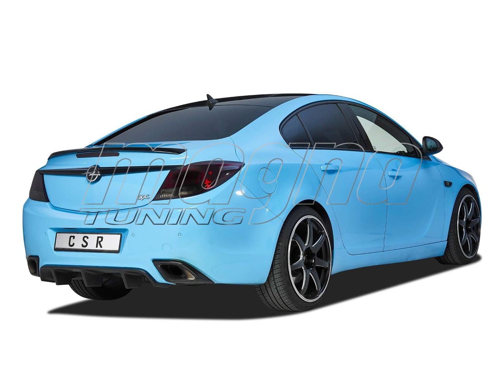 Opel Insignia A OPC Drag Rear Bumper Extension