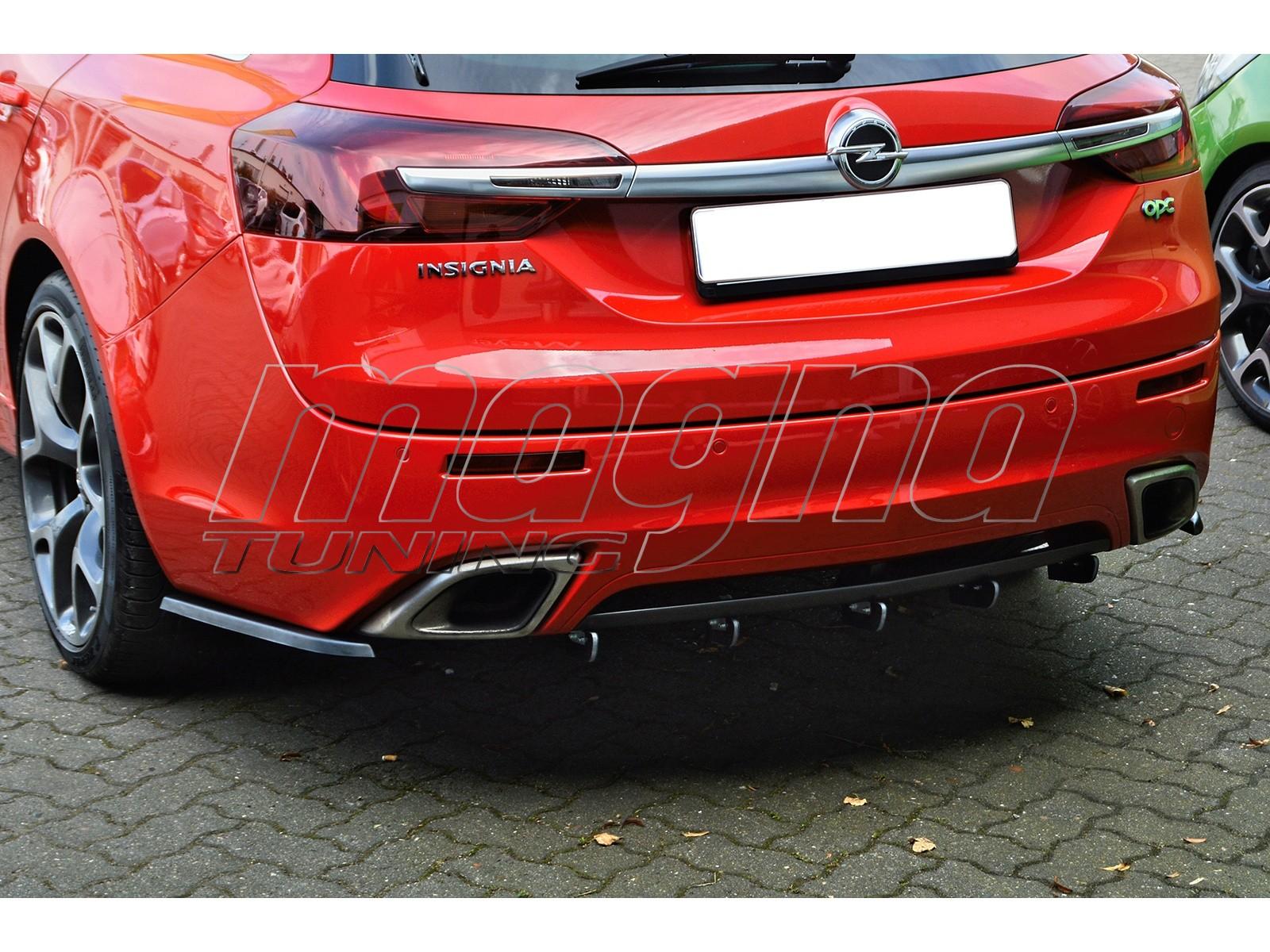 Opel Insignia A OPC Intenso Rear Bumper Extension