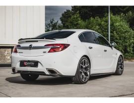 Opel Insignia A OPC Matrix Rear Bumper Extension