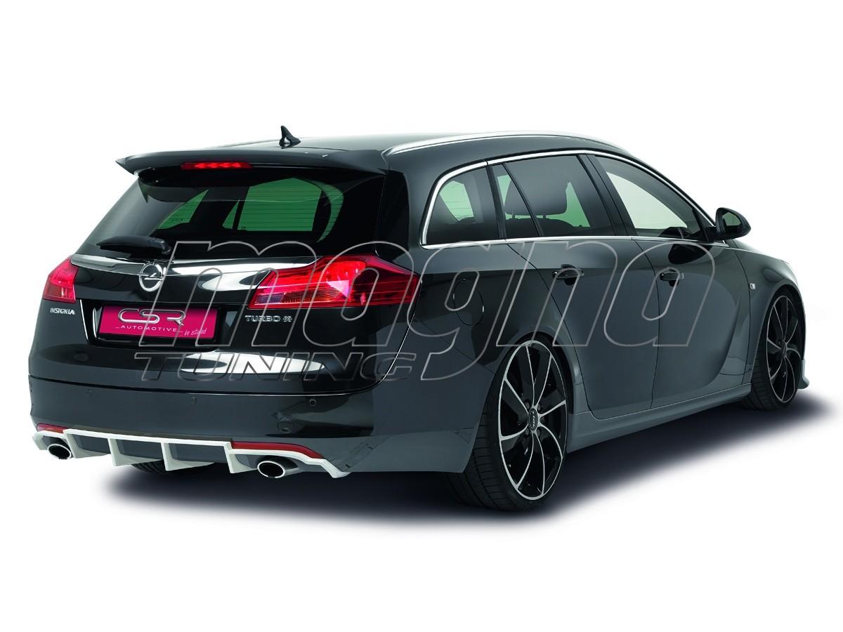 Opel Insignia A SportsTourer Crono Rear Bumper Extension