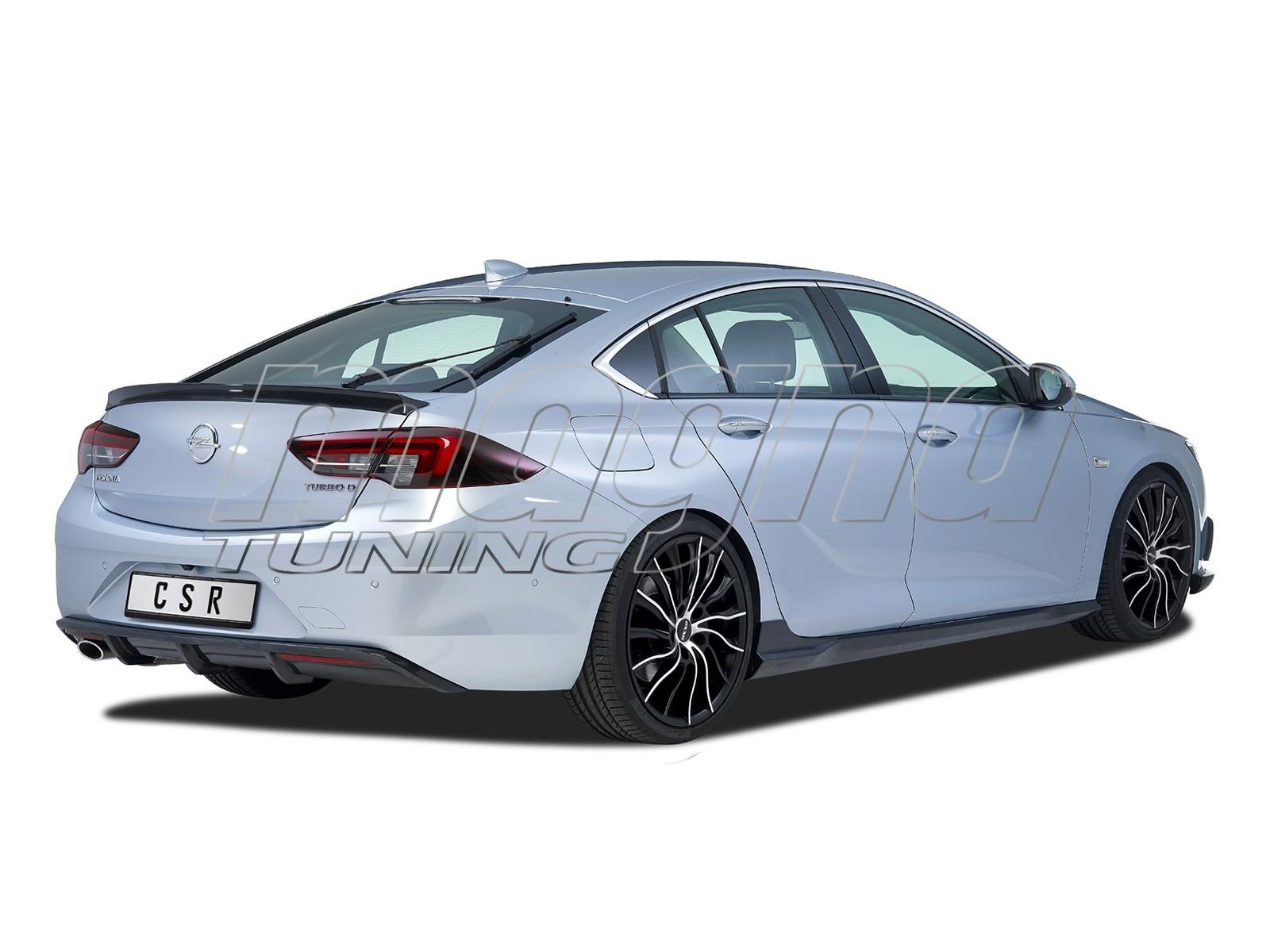 Opel Insignia B Cyber-X Rear Bumper Extension