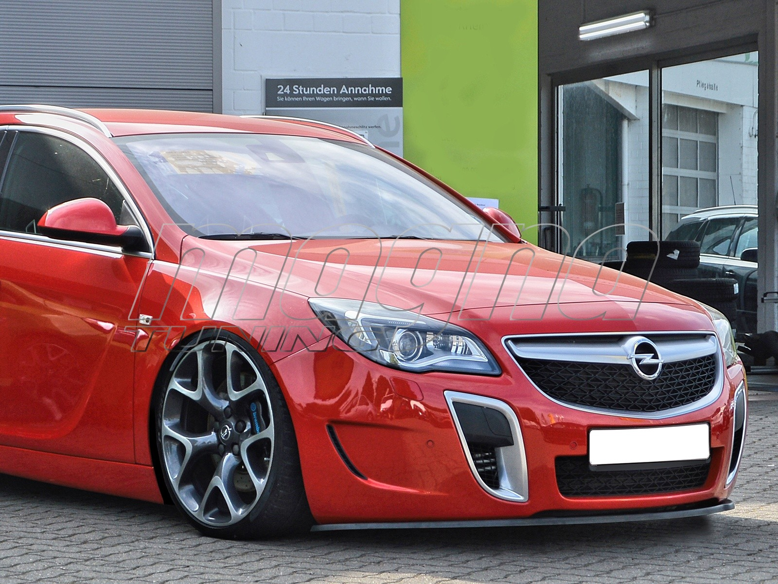 opel insignia opc intenso front bumper extension. Black Bedroom Furniture Sets. Home Design Ideas
