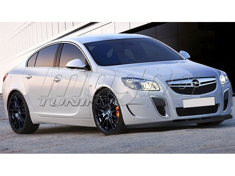 opel insignia opc m style front bumper extension. Black Bedroom Furniture Sets. Home Design Ideas