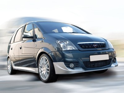 Opel Meriva A Facelift I-Line Front Bumper Extension