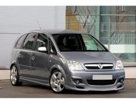 Opel Meriva A Facelift J-Style Front Bumper Extension