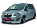 Opel Meriva B NewLine Elso Lokharito Toldat