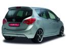 Opel Meriva B NewLine Rear Bumper Extension