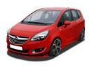 Opel Meriva B Verus-X Front Bumper Extension
