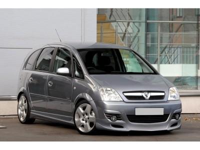 Opel Meriva Facelift J-Style Front Bumper Extension