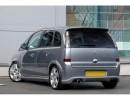 Opel Meriva J-Style Rear Bumper Extension
