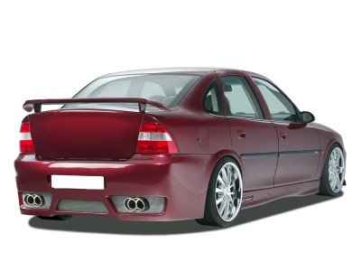 Opel Vectra B GTX-Race Rear Bumper with Number Plate Support