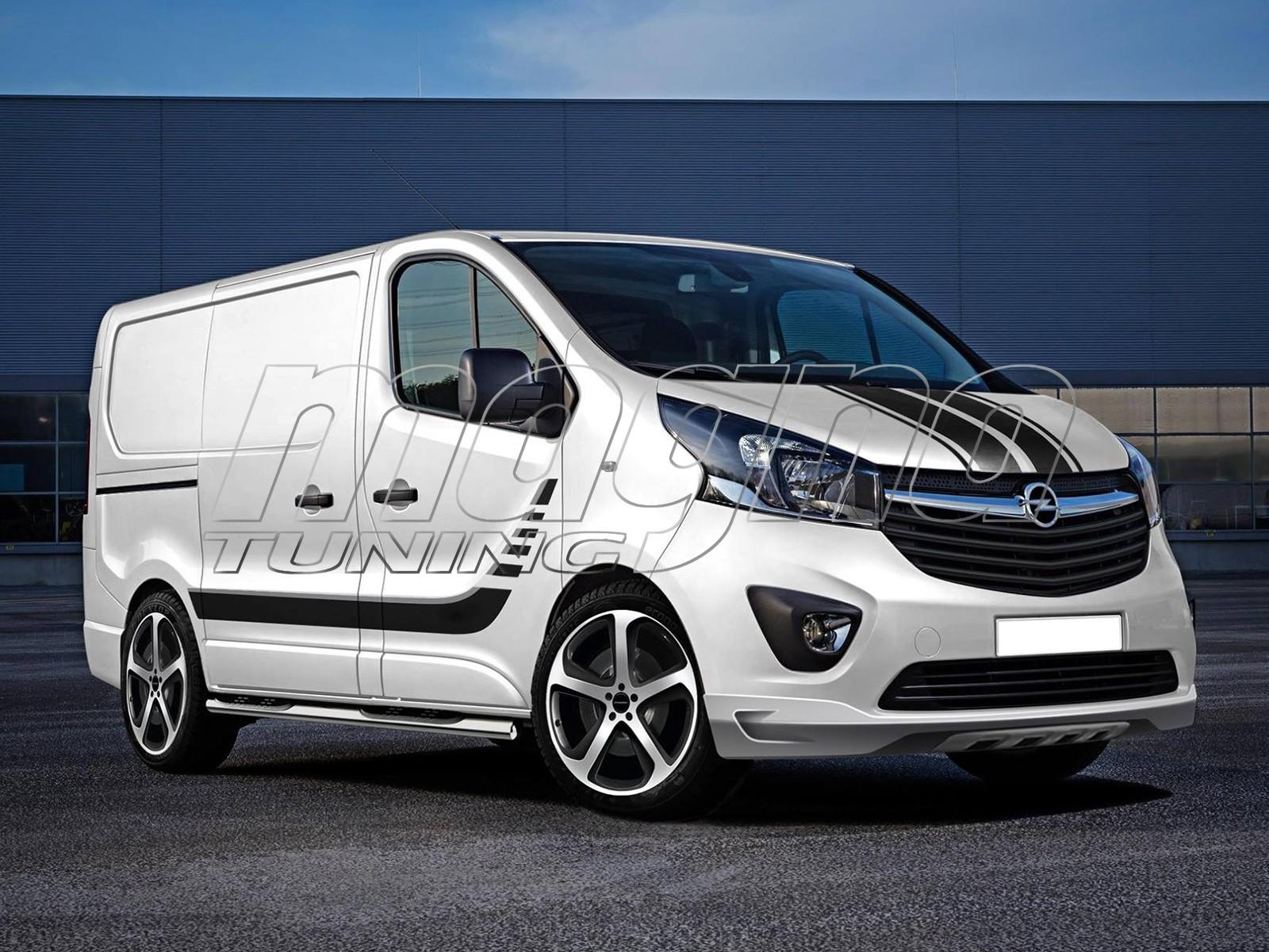Opel Vivaro B I-Line Front Bumper Extension