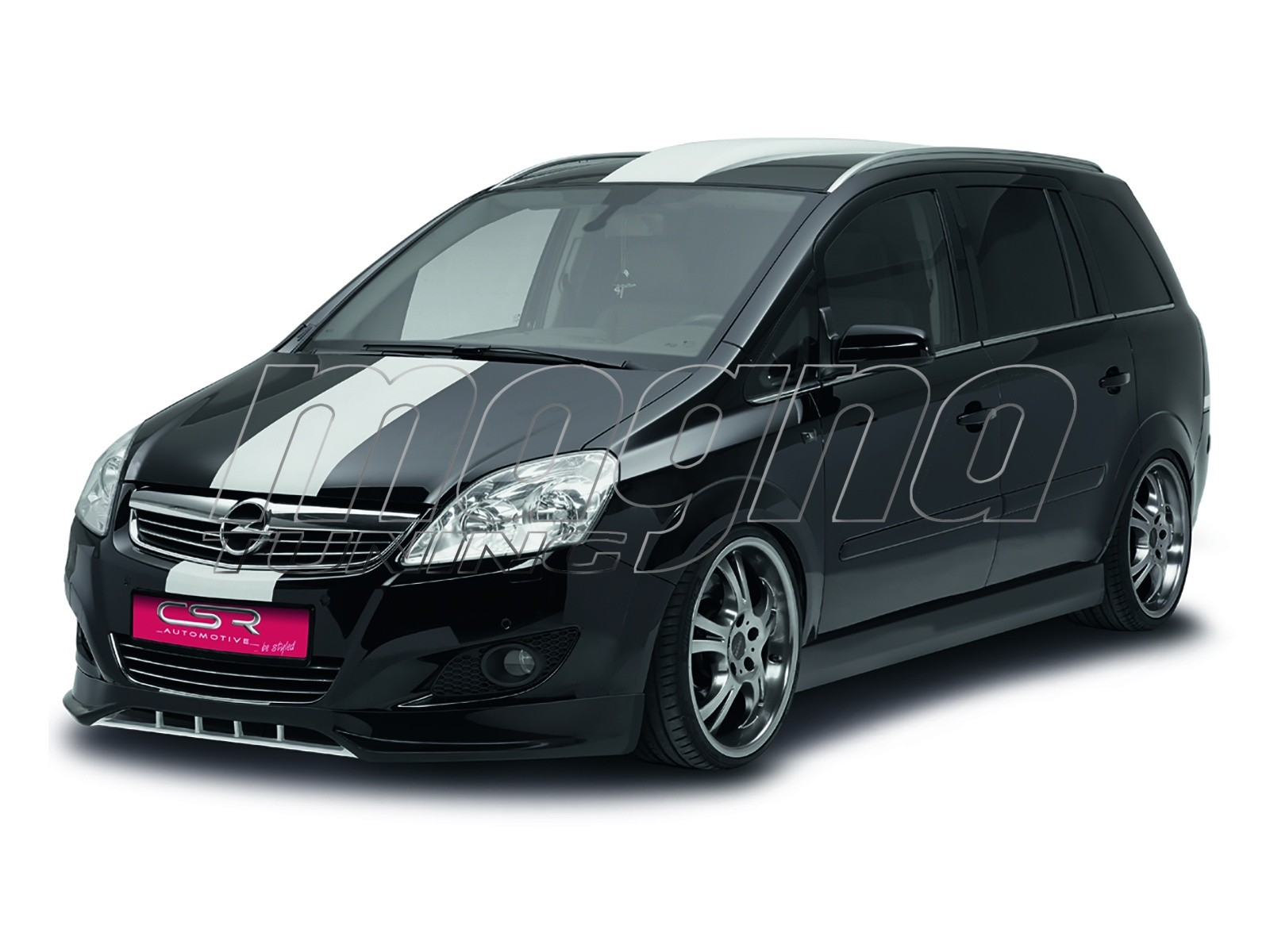 opel zafira b facelift sfx body kit. Black Bedroom Furniture Sets. Home Design Ideas
