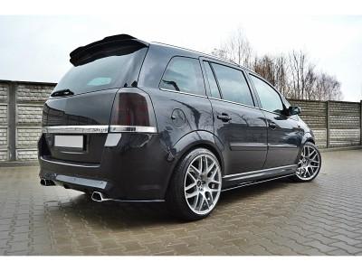 Opel Zafira B OPC M2 Rear Bumper Extensions