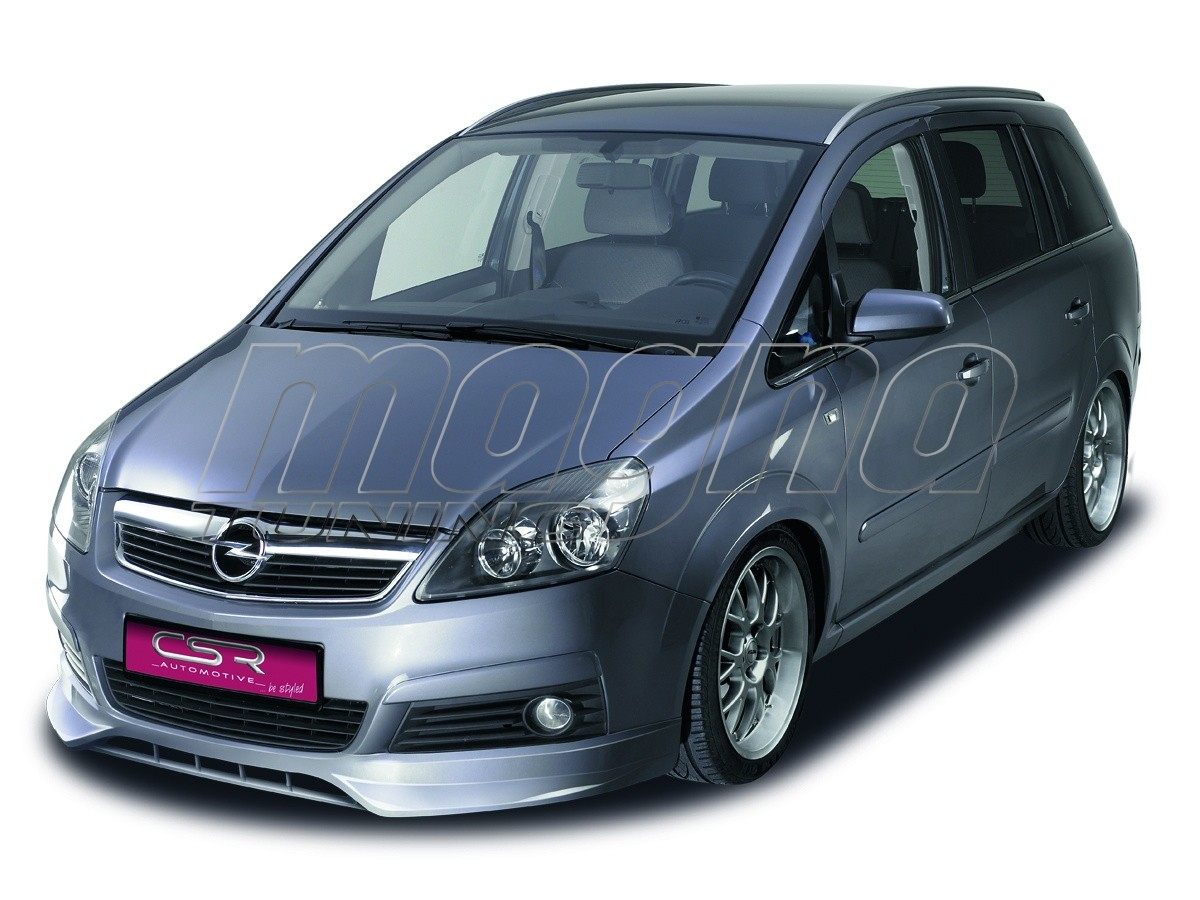 opel zafira b sfx front bumper extension. Black Bedroom Furniture Sets. Home Design Ideas