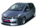 Opel Zafira B SFX Front Bumper Extension