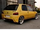 Peugeot 106 MK1 Tokyo Rear Bumper