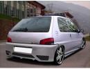 Peugeot 106 MK2 H-Design Side Skirts
