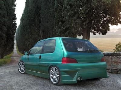 Peugeot 106 MK2 M-Style Rear Bumper