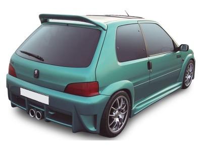 Peugeot 106 MK2 Nero Heckstossstange