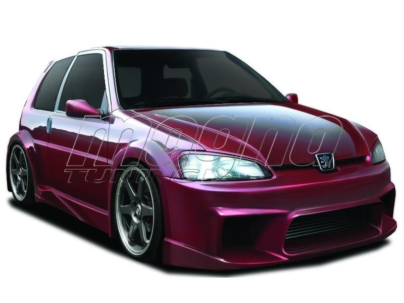 Peugeot 106 MK2 Wide Body Kit Warp
